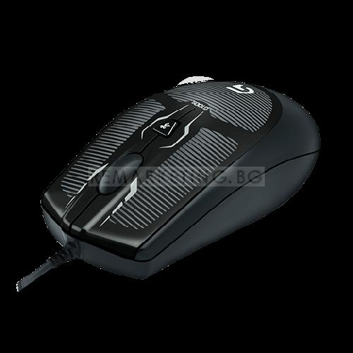Мишка Logitech G100s Черна геймърска USB