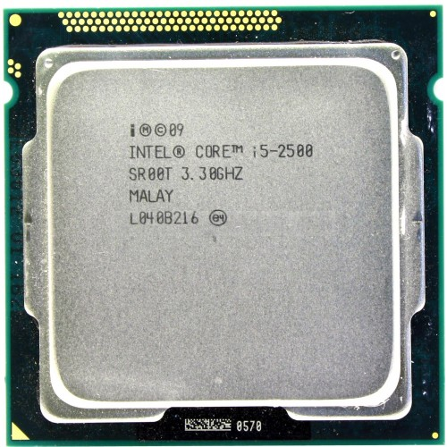 Процесор Intel Core i5 2500 3300Mhz 6MB