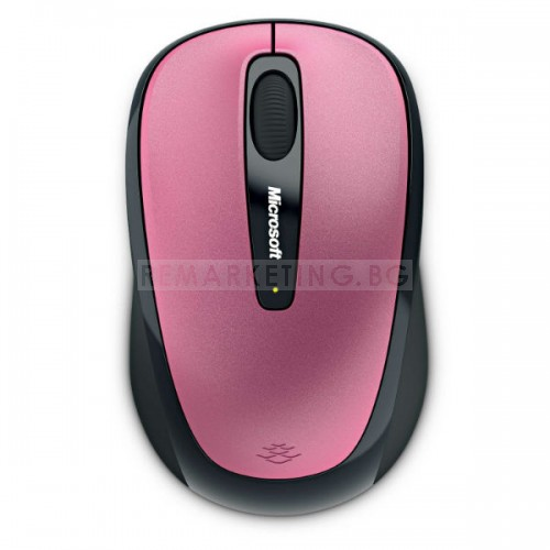 Microsoft Wireless Mouse 3500 Dahlia Pink