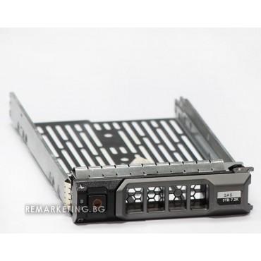 "Твърд диск за сървър DELL SAS SATAu 3.5"" HDD Tray Caddy for PowerEdge R610 R710 T610 T710"