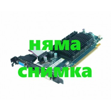 Видео карта nVidia, Quadro FX1800, 768MB, PCI-E, DDR3, Standard Profile, DVI 2xDisplayPort for PC, А клас